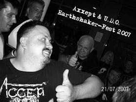 Axxept & Udo - Earthshaker Fest 2007